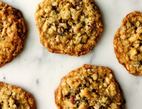 Tigertail Mustard Cranberry Cookies