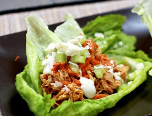 Tigertail Slow Cooker Buffalo Chicken Lettuce Wraps
